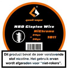 GeekVape NI80 Fused Clapton 3MTR