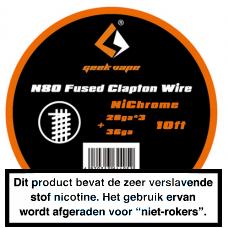 GeekVape NI80 Fused Clapton 3MTR 26 x 3 + 36