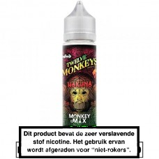12 Monkeys Hakuna 50ML in 60ML 0MG