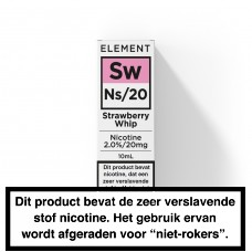 Element NS20 Strawberry Whip 10ML