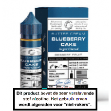 Glas Blueberry Cake 50 in 60 ML