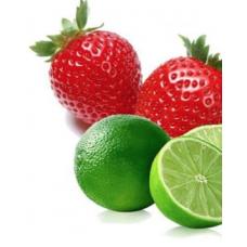 Dampsap Aardbei-Limoen