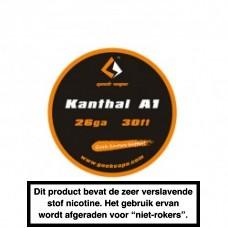 GeekVape Kanthal A1 26GA 30FT 10MTR