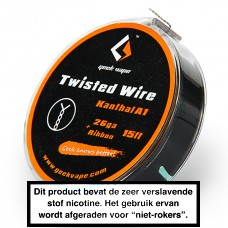 GeekVape Kanthal Twisted 26GA + ribbon 15FT 5MTR