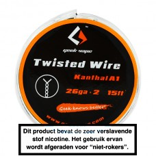 GeekVape Kanthal Twisted 26GA x 2 15FT 5MTR