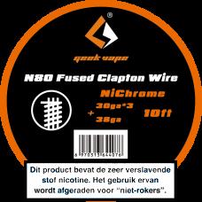 GeekVape NI80 Fused Clapton 3MTR 30 x 3 + 38