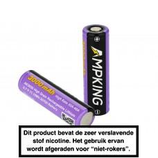 Ampking 20700 3000mAh - 40A Batterij